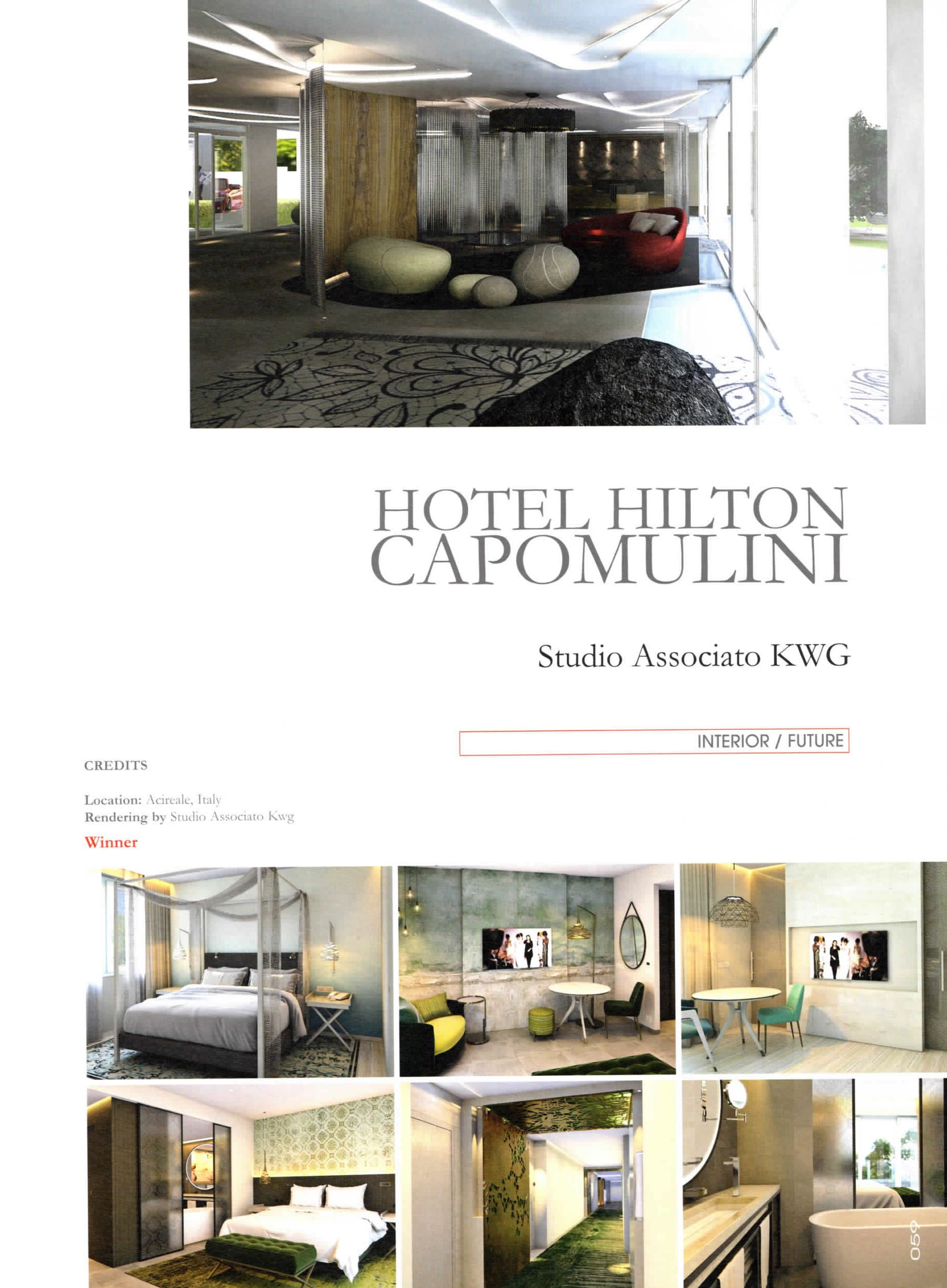 Hilton Catania Capomulini Lavoro press - kwg architects